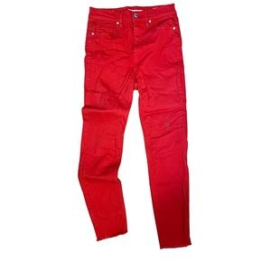 Dynamite red jeans
